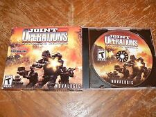 Joint Operations Typhoon Rising PC CD-ROM NovaLogic 2004 Windows 98/2000/Me/XP