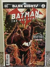 Batman: The Red Death #1 HTF 2nd Print Rare Metal One-shot Metal Dark Knights NM