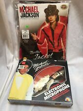 Sing-Along with Michael Jackson Microphone with Thriller jacket