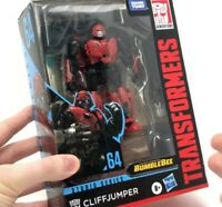 New TRANSFORMERS GENERATIONS STUDIO SERIES SS64 DELUXE CLIFFJUMPER ACTION FIGURE
