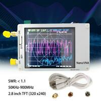 Nanovna 50KHz-900MHz Vector Network Analyzer VNA HF VHF UHF UV Antenna Analyzer