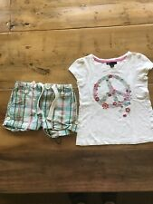 Baby Gap Girls 6-7 Shorts And Shirt Outfit