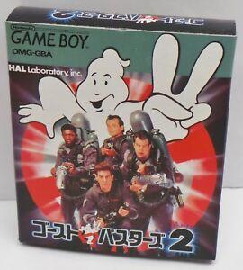 Nintendo Game Boy Gameboy Ghostbusters 2 Japan Game - NEW