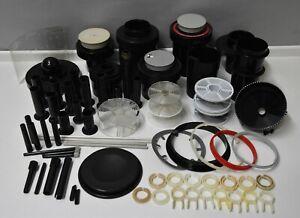 80x Paterson Durst Jobo darkroom equipment processor tank drum reels parts only