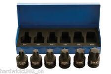 TOOL ACADEMY IMPACT QUALITY Torx SOCKET Bit Set 1/2 T55 T60 T70 T80 T90 T100