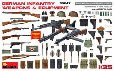 Miniart 35247 - 1/35 German Infantry Weapons & Equipmens WWII Plastic Model Kit