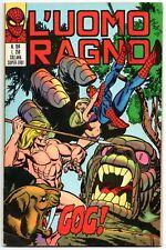 L' UOMO RAGNO corno N.104 GOG ! ka-zar kazar ka - zar ant-man hulk spider-man