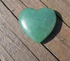 Aventurine Healing energy stone heart, 25mm