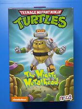 NECA Teenage Mutant Ninja Turtles Deluxe The Mighty METALHEAD Figure Complete