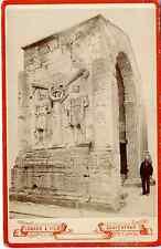 Isnard et fils, arc de Carpentras, monument romain vintage albumen print Tirag
