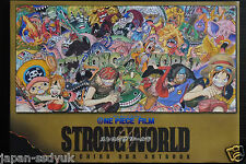 "JAPAN One Piece Film ""Strong World"" Eiichiro Oda Art Book"