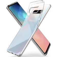 Coque Samsung Galaxy S10 Plus S10e Edge S9 S8 S7 Antichoc Transparente Silicone