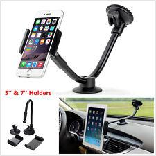 Universal Long Arm Car Dash Windshield Mobile Phone Tablet Support Mount Holder