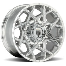 "American Truxx AT1901 Gridlock 17x9 6x135/6x5.5"" -12 Polished Wheel Rim 17"" Inch"