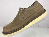 Red Wing Shoes Irish Setter - Sunsetters Canvas Slip On Loafers Beige Mens 9 E2