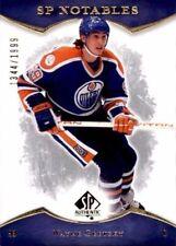 2007-08 SP Authentic #138 Wayne Gretzky NOTABLE #1344/1999 (ref 16478)