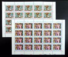 VATICANO all'ingrosso 1980 (2) SG753/4 x 20 Set NB4343