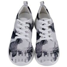 Godzilla Science Fiction Japanes Men's Lightweight Sports Shoes Free Shipping