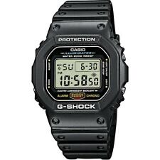 Casio G-Shock Men's Watch, Rubber Strap, 20 ATM, DW-5600E-1VER
