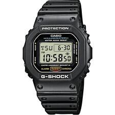 Casio G-shock Reloj Para Hombres, Correa de caucho, 20 ATM, DW-5600E-1VER