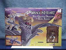 1996 DRAGONHEART MOVIE EVIL GRIFFIN DRAGON & KING EINON FIGURE MINT SEALED MIB