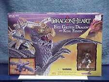 1996 DRAGONHEART MOVIE EVIL GRIFFIN DRAGON & KING EINON FIGURE MINT SEALED MIB