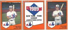 1989 Pro Cards Jamestown Expos 30-card Minor League Team Set  Matt Stairs