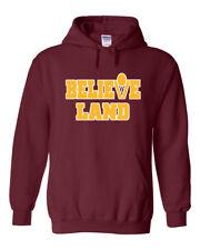 SALE HOODED SWEATSHIRT Believe Land Cleveland Cavaliers ADULT MEDIUM