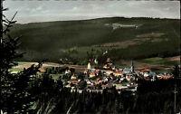 Bischofsgrün Fichtelgebirge Bayern Color Postkarte 1961 gelaufen Gesamtansicht