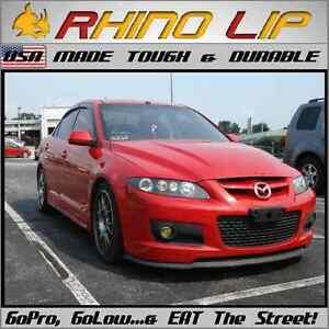 Mazda 2 3 5 6 Protege Mellenia Miata MX * Sport Rubber Chin Lip Spoiler Splitter