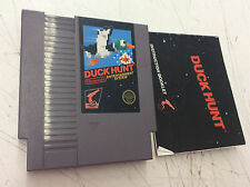 Duck Hunt Light Gun Series (Nintendo NES, 1985) Cart & Manual! Tested!