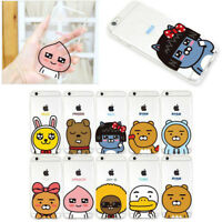 Kakao Friends Cutie Jelly Case for Samsung Galaxy Note10 Note9 8 5 Edge 4 3 NEO