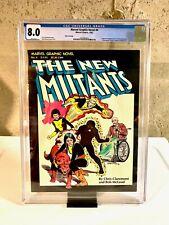 Marvel Graphic Novel #4 - 1st App. of The New Mutants - RARE Third Print - CGC