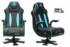 NEW X-Rocker Genesis Official Licensed PlayStation Gaming Chair wireless Audio