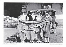 """*Postcard-""""4 Ladies/Students Wait For Train""""  *Oxford & Ole, Mississippi (#236)"""
