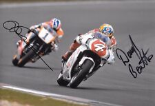 Daryl Beattie & Mick Doohan SIGNED 12x8  Japanese GP Suzuka 1995  Race Dual
