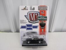 1:64 1967 Chevrolet Nova SS M2 Machines AUTO-DRIVERS series Diecast Black