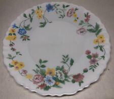 Lot77 Desde 6 Pequeñas Platos Planas Vintage Arcopal Francia De 19 CM Flores