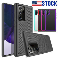 For Samsung Galaxy Note 20 Ultra 10/10+ 5G Shockproof Silicone Rubber Case Cover