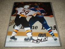 Boston Bruins Jay Miller 8x10 Autograph W/COA