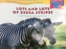 Teacher Big Book LOTS AND LOTS OF ZEBRA STRIPES Kindergarten 1st SHARED READING