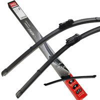 Front & Rear kit of genuine HQ Automotive Aero Flat Wiper Blade ADB61-624 HQB13