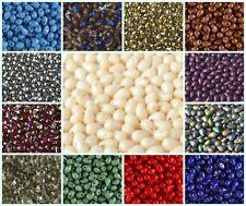 CHOOSE COLOR! 60pcs 4x6mm Teardrop Beads, Czech Glass