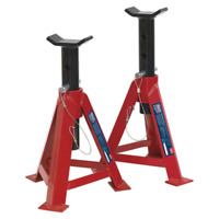 1.5 TONNE CAPACITY EACH SEALEY AS1500HS HIGH LIFT AXLE STAND