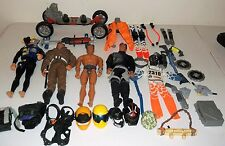 Max Steel Action Figure And Accessory Lot Of 34 Pieces Used Loose