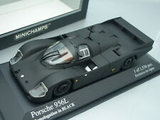 1/43 Minichamps PORSCHE 956L - HOMOLOGATION IN BLACK