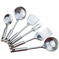 6 Stück Küchengerät Set Edelstahl Küche Kochen Werkzeuge Hochwertige Küchen P4J1