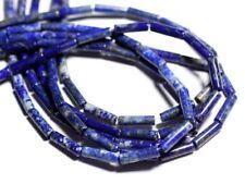 Fil 39cm 30pc env - Perles de Pierre - Lapis Lazuli Tubes 13mm