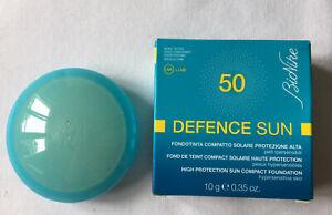 Bionike Defence Sun 50 AMBRE 1 kompakt Make-up mit Sonnenschutz NEU OVP