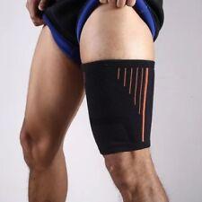 Elastic Sports Stretch Thigh Brace Sleeve Compression Leg Protector Power Liftin